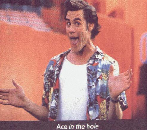 Ace Ventura - Jim Carrey stars in the hit comedy movie series Ace Ventura.
