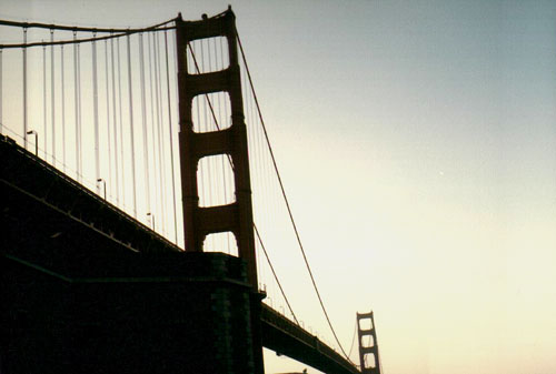 Golden Gate Bridge, San Francisco, CA. - The one, the only.  What a landmark!