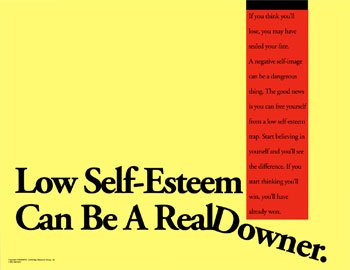 Self Esteem - A picture depicting self esteem being our downfall.