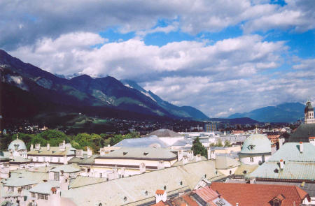 The city of Innsbruck in Austria!! - hey give ur opinion on this image.....this is the photo of the city of innsbruck in austria....See its beauty sitting at the foot of the majestic alps!!   Give your valuable comments on this Photo!!!