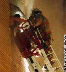 Apartment Building Fire - Seven Dead-Apartment Fire