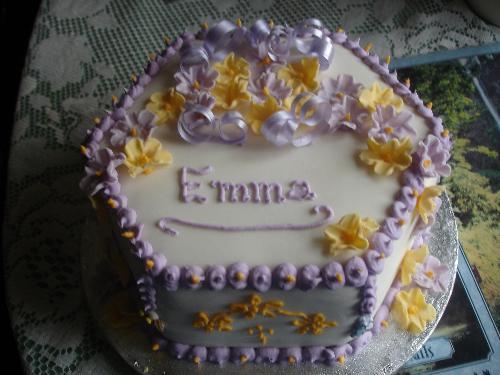 Birthday Cake - A birthday cake I made for Emma.