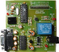 Infrared microconrolling system - circuit diagram