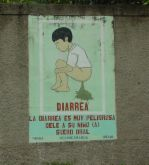 Diarrhea - Stomach pain, a child having diarrhea and gushing liquids.  Dehydration and loss of body fluids.