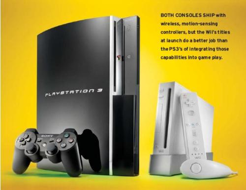 ps3 vs wii . gaming war - ps3 vs wii . choose the best for you.
