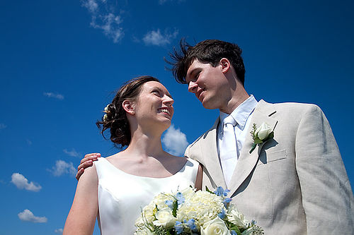 is she better than me? - a newly wed couple