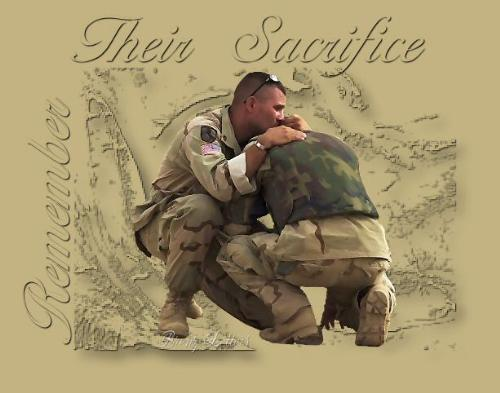 Remember Our Troops - and the sacrafices they have made