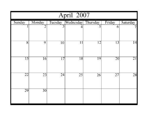 aprile - aprile is a good month