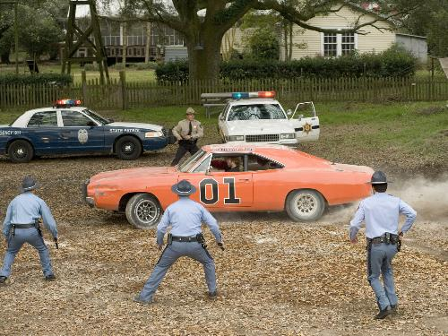 General Lee - Shot from the Hazzard movie
