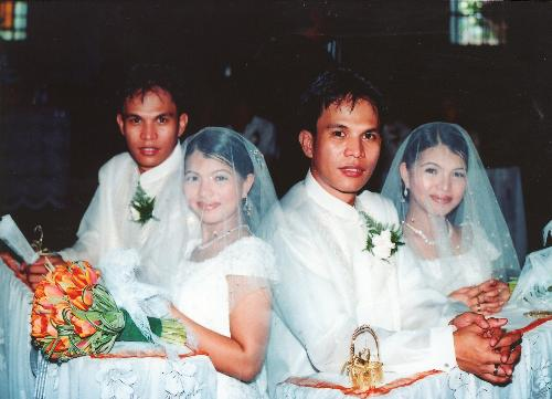 our wedding picture - it is our dream come true even we prepare our wedding for three months only!