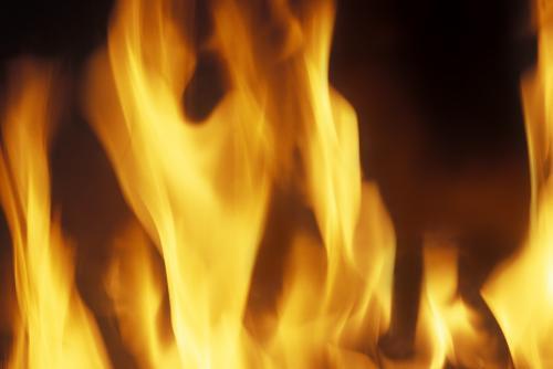 fire - big, strong fire