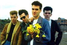 The Smiths - Full band in picture.