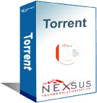 torrent logo  - the word torrnet is on one of the product thats the word on it.