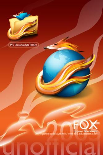 Fire Fox logo - Fire Fox is one of the greatest internet explorer now you almost find it everywhere and on all the OS's Firefox is one of the fastest internet explorer you can find it here ------ this picture show you Firefox logo in new design thats come from new icons you can use it for Firefox