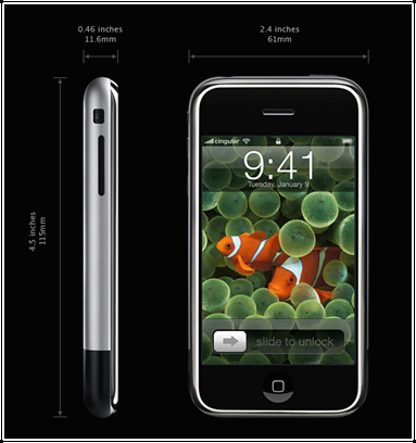 iPhone - iphone is the new generation in phones all over the world. This unique style will catch peoples attention and attract them with all thes exotic features.
