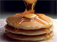 pancakes - Being a Canadian I have grown up with pancakes and real Canadian maple syrup. Mmmmm