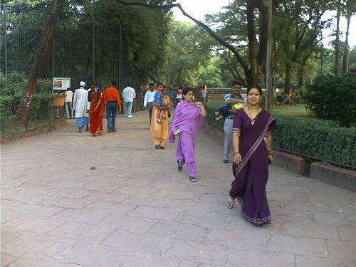 Sari - Sample of Sari - The traditional Indian dress.