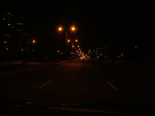 Night Driving - Here is a Pic of the city way's in the night time.