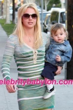 Britney & Sean Preston - Britney Spears with Son