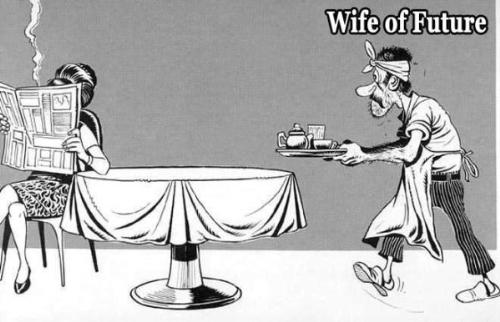 wife of future - will be the wifes in future remain same as they are in present?