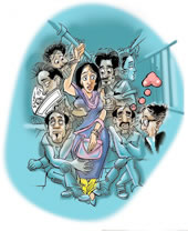 eve teasing - Problems women face in the world.