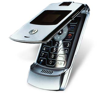 cell phone - motorola razr phone