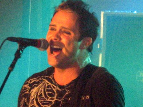 John Cooper - This is John Cooper, the lead singer for Skillet, at a concert last Friday, the 19th of January, in Worthington, MN. I was there. My husband took this photo.
