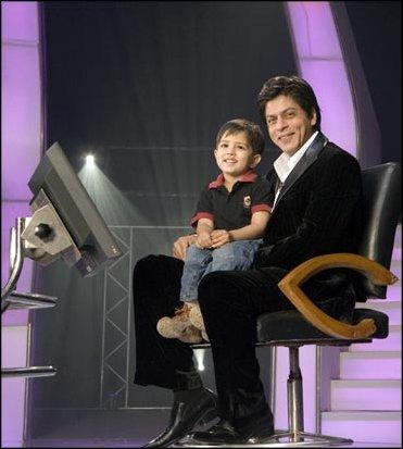 Shahruk khan and junior shahruk - King khan