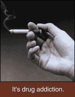 Smoke - cigarette