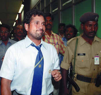 Sachin Tendulkar... if he sneezes - Sachin Tendulkar... if he sneezes it is a cause for national concern, if he gets injured it becomes a national emergency.