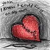 broken heart - heart and love