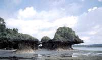 Umbrella Rocks - Umbrella Rocks, Agno, Pangasinan, Philippines