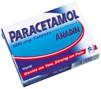 Paracetamol - gently killing your pain - Paracetamol tablets package