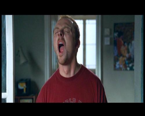 Makes me scream! - Screaming Simon Pegg, as he reads another stupid myLot posting!