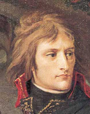 Napoleon Bonaparte - Baron Antoine Gros' 1976 portrait of Napoleon at the Bridge of the Arcole.