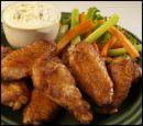 chicken wings - chicken wings in sauce