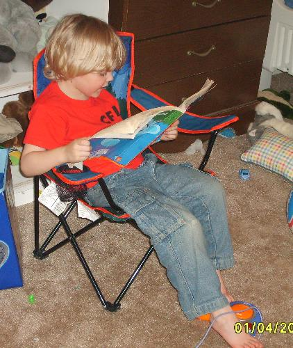 bugg and books - my son learning to read