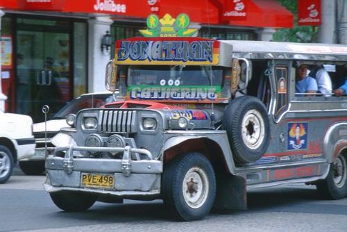 jeepney - manila jeepney