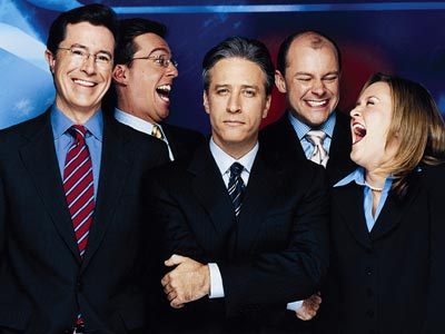 daily show cast - daily show cast, they are all frkn hilarius, but stewart is my fave