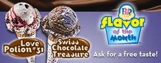 31 flavors - Ice Cream