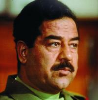 saddam hussain - former dictator of iraq