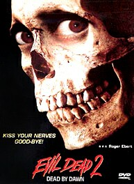 Evil Dead II DVD cover - One of the original versions of the DVD cover art.