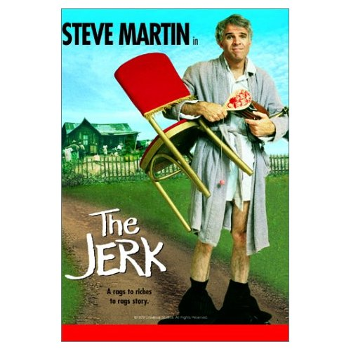 Steve Martin - Cover to the Movie The Jerk
