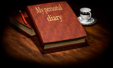 Personal Diary - my autobiography is written in my diary.