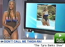 Tyra Banks - Tyra Banks Porkchop Pictures
