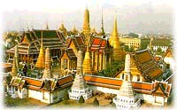Cultural - The Grand Palace and Wat Phra Kaew. This city landmark should be the first place on any visitor's itinerary. A huge compound surrounded by high walls, the palace consists of several building with highly decorated architectural details. The Royal Chapel, Wat Phra Kaew, houses the Emerald Buddha, the most sacred Buddha image in Thailand.