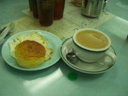 Breakfast - A simple normal breakfast