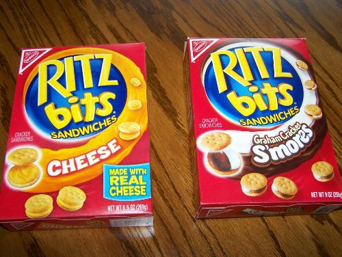 Ritz Bits - Rits Bits -- the kids love them!