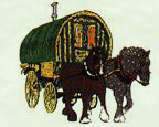 Romany Caravan and Horse - This is my dream.  To travel the countryside in a Romany Caravan and be free.