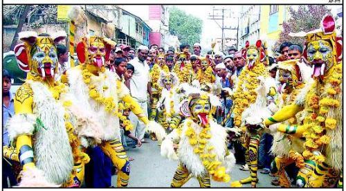 Mohurrum Procession - Celebration in India.